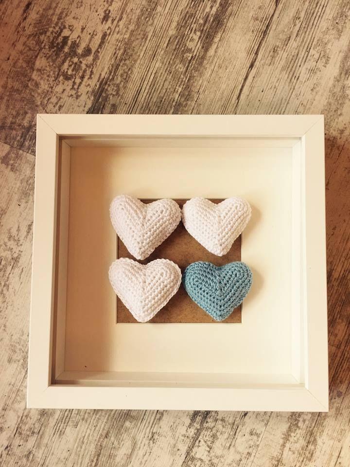 Srdíčko pro radost, které můžete použít jako designový doplněk ve vašem interiéru nebo ho můžete darovat a udělat s ním radost.:)