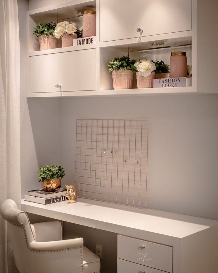 White desk: 60 templates to decorate your office with class  – Dekoration wohnung