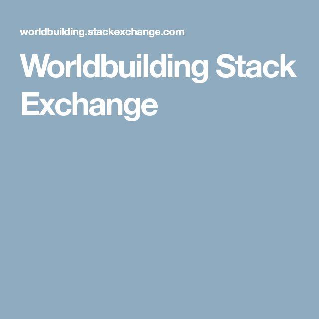 Worldbuilding Stack Exchange