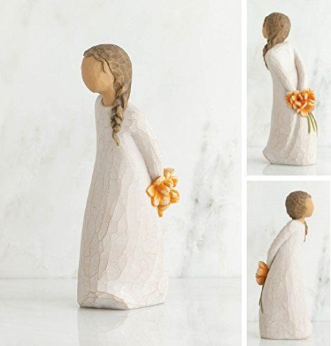 """For You - Willow Tree Figurine - The Shabby Shed Sentiment: """"Just a little something..."""""""