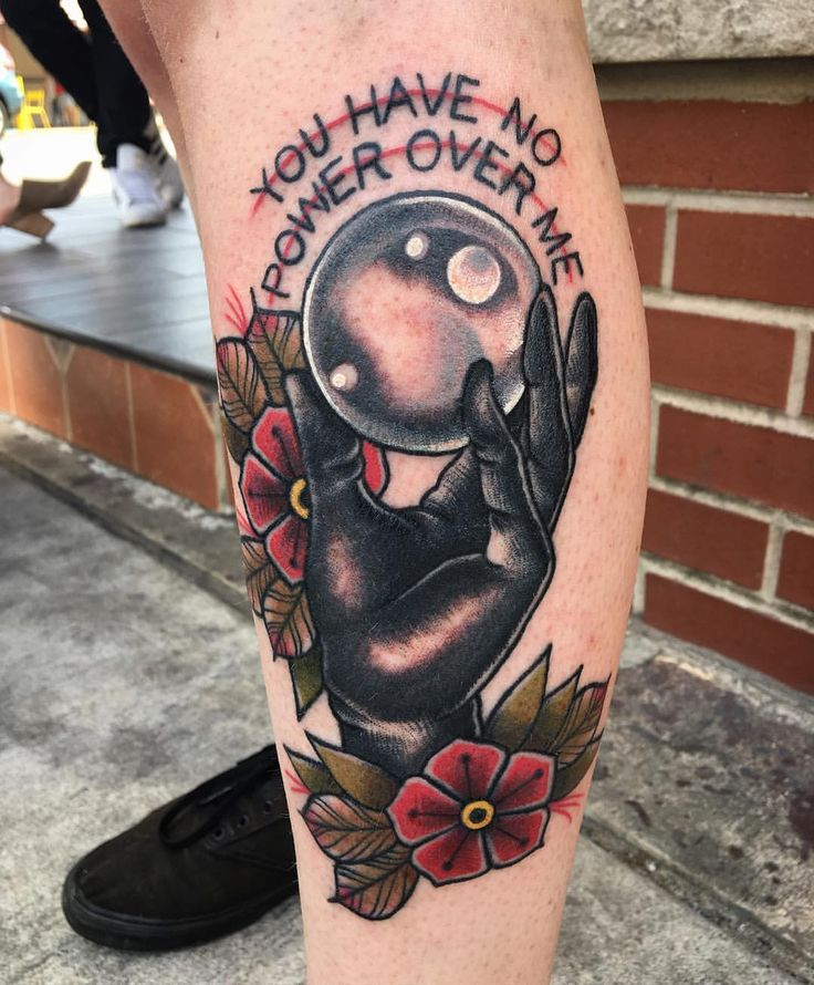 Traditional American tattoo: crystal ball                                                                                                                                                      More