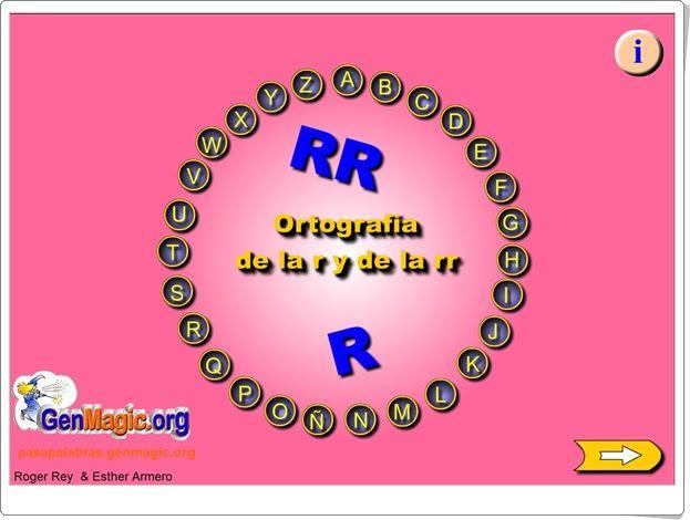 """Pasapalabra: Ortografía de la """"r"""" y de la """"rr"""""""