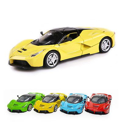 1 Pc 1:32 Alloy Diecast Sound & Light Collection Gift La Ferrari Model Cars Toy