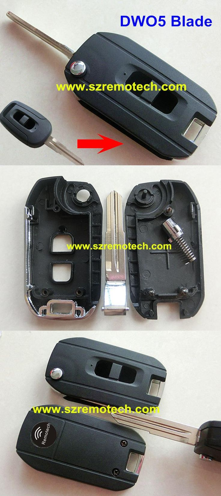 Chevrolet captiva visit to buy free shipping with best price 2 button blank modified flip folding