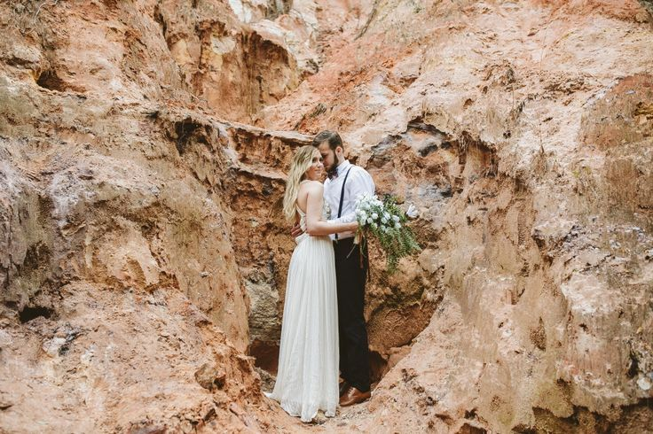 Jan   George engagement session at the Providence Canyon. » Vic Bonvicini Photography
