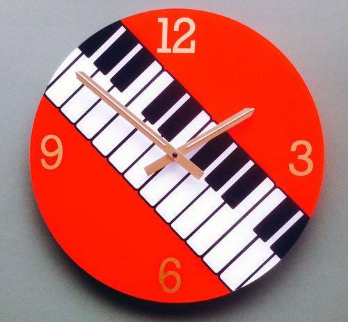 Elevenfy | Keyboard Music Wall Clock