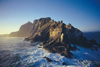 Cape Point - the southwestern most tip of Africa