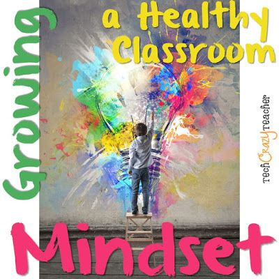 Growing a Healthy Classroom Mindset: Let's get our students on the right track with the growth mindset!