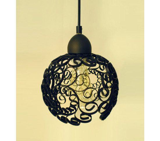 Upcycled Iron Scroll Pendant Lamps, Designed By Stephanie Reppas, October  Design Company.