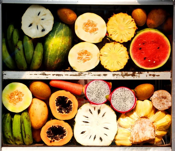 EXOITC FRUITS OF ASIA | Exotic fruit salad, a photo from Phnum Penh, West | TrekEarth