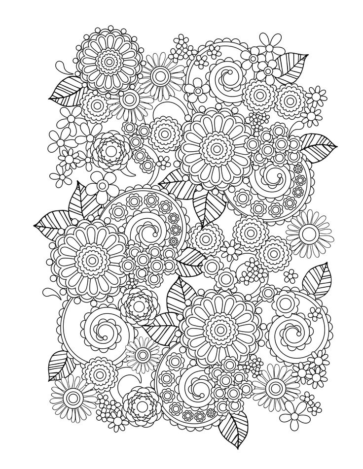 Flower Art Adult Coloring Book amp Coloring Cards amp Journal