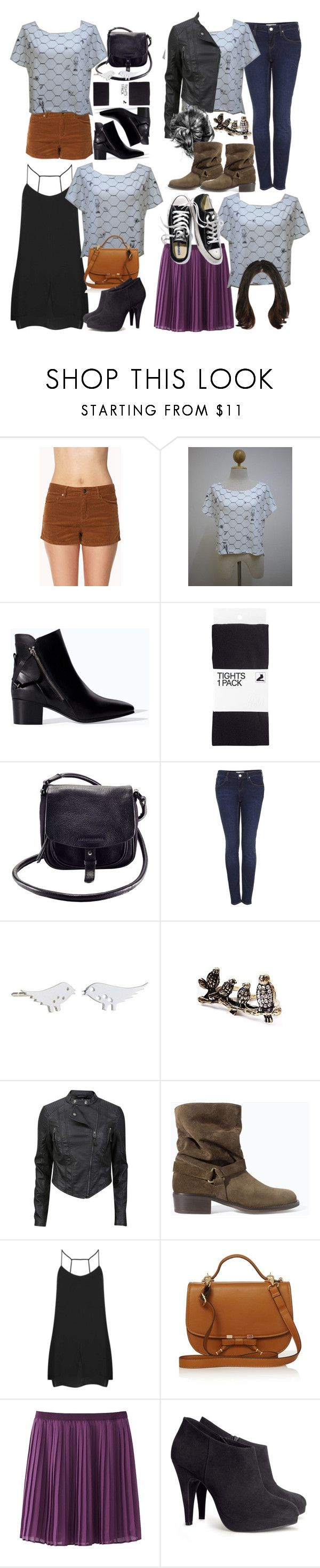 """""""Allison Inspired Outfits with Requested Top"""" by veterization ❤ liked on Polyvore featuring Forever 21, Zara, H&M, Armani Exchange, Topshop, Uniqlo and Victoria's Secret"""