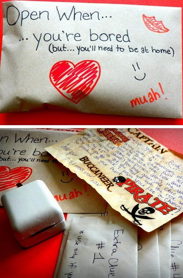 Romantic LDR Scavenger Hunt. Diy valentines gifts for