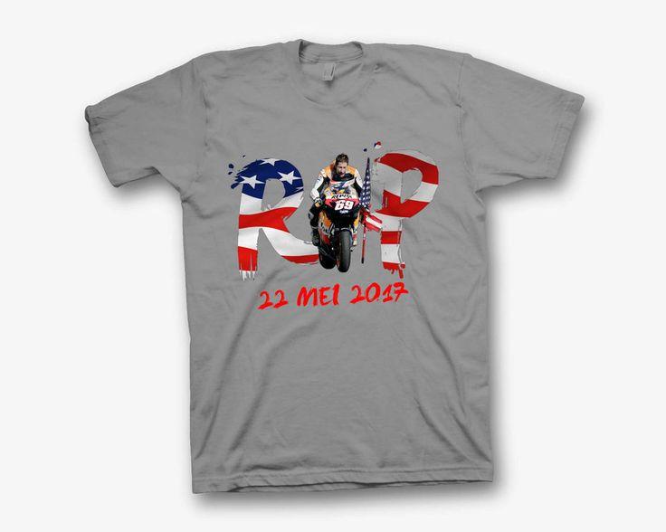 Nicky hayden shirt t-shirt tshirt clothing moto gp logo rip 69 american flag #Unbranded #BasicTee