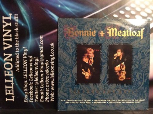 Bonnie + Meatloaf Heaven And Hell LP Album Vinyl Record STAR2361 Rock 80's Music:Records:Albums/ LPs:Rock:Soft