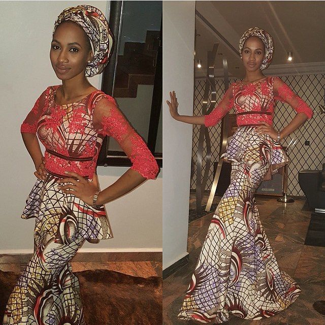 Aso Ebi Look book- Peplum Native Wears VL1 traditional nigerian print african owambe