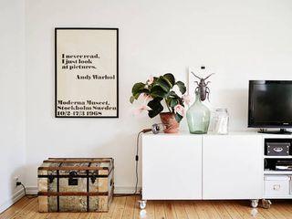 White shelves (via Lovely Life) | my ideal home... | Bloglovin