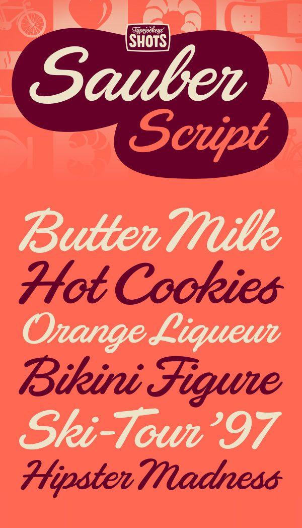 Sauber Script by Typejockeys