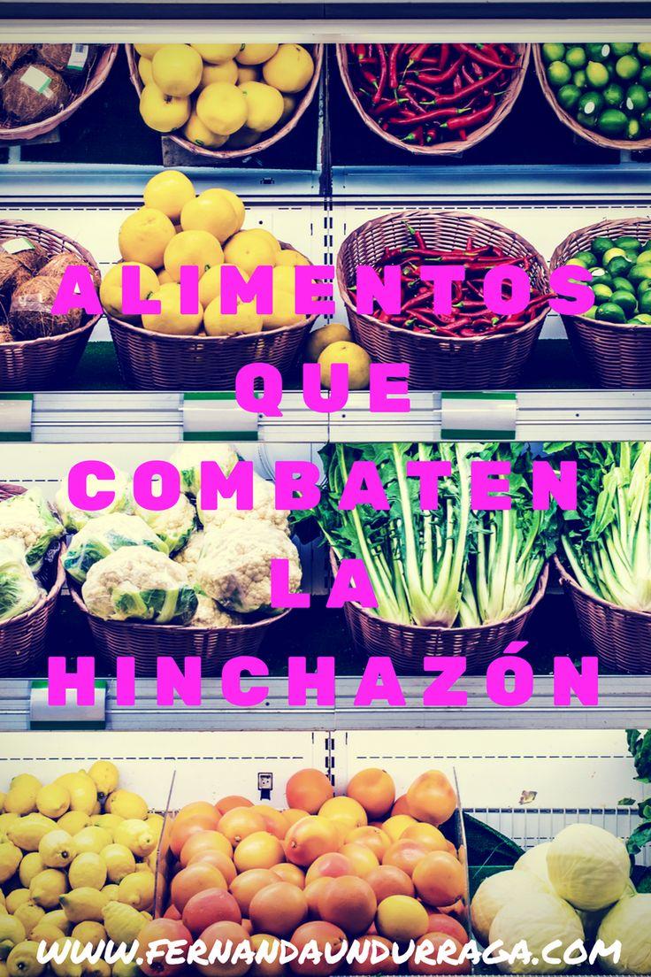 Alimentos que combaten la hinchazón