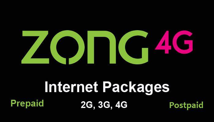 Zong Internet Packages Internet Packages 4g Internet Cheap Internet