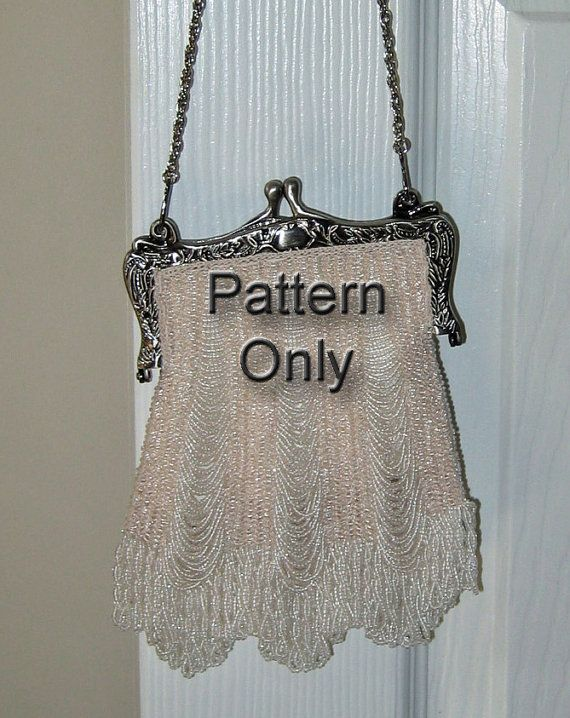 Crochet Beaded Purse Pattern : purses vintage purse pattern i love vintage purses vintage evening bag ...