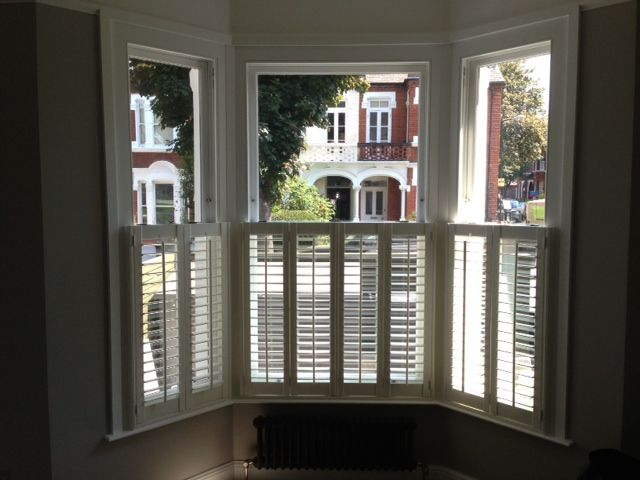 152 best images about shutters on pinterest hunter - Interior vinyl shutters for windows ...