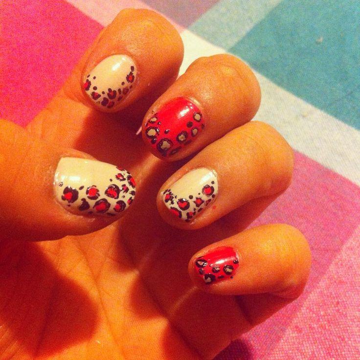 #nails #manicure #animal #print