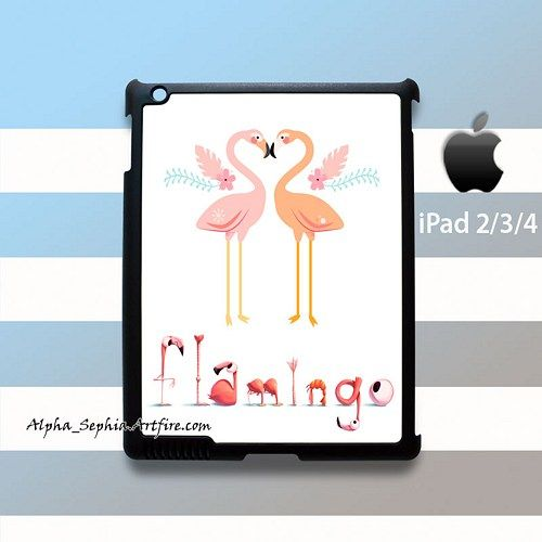 Flamingo Love iPad 2 3 4 Case Cover
