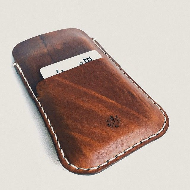Bexar Goods Iphone Sleeve Featuring A Pocket For Few Credit Cards Coming Soon In