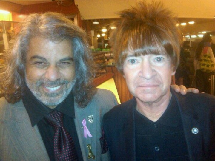 "David Harrison Levi & Rodney ""On The Roq"" Bingenheimer ~ Friends since 1965 ..."