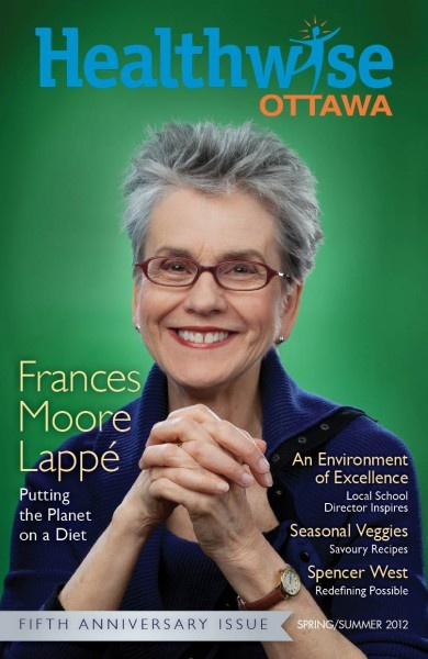 Francis Lappe for Healthwise Magazine.