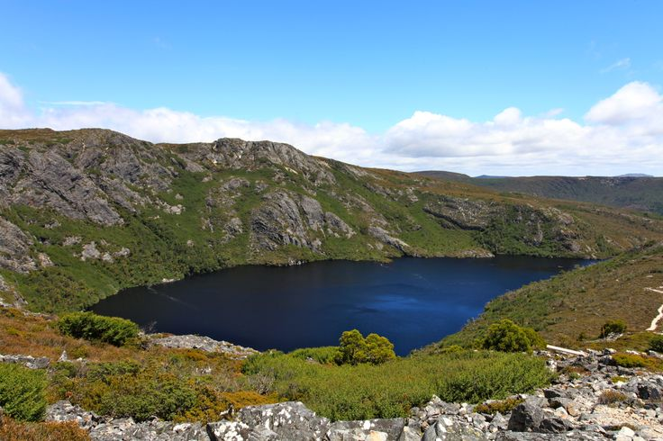 View of Lake St Clair from the top of Marion's Lookout, Cradle Mountain, Tasmania, Australia