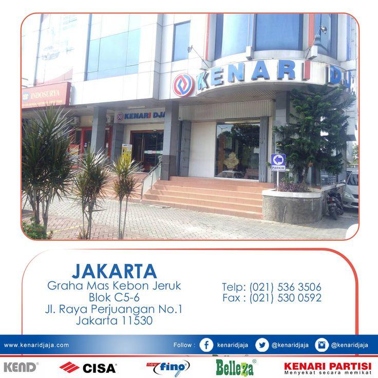 Anda sedang mencari inspirasi pilihan aksesoris pintu dan jendela yang berkualitas ???Segera datang ke Showroom KENARI DJAJA ...  kami ada di : Graha Mas Kebun Jeruk Blok C5-6 Telp : (021) 536 3506, Fax : (021) 530 0592 Jakarta  [ K E N A R I D J A J A ] PELOPOR PERLENGKAPAN PINTU DAN JENDELA SEJAK TAHUN 1965  SHOWROOM : JAKARTA & TANGERANG 1 Graha Mas Kebun Jeruk Blok C5-6 Telp : (021) 536 3506, Fax : (021) 530 0592  2 Jl. Pinangsia Raya 16 B-C Telp : (021) 690 5280,..