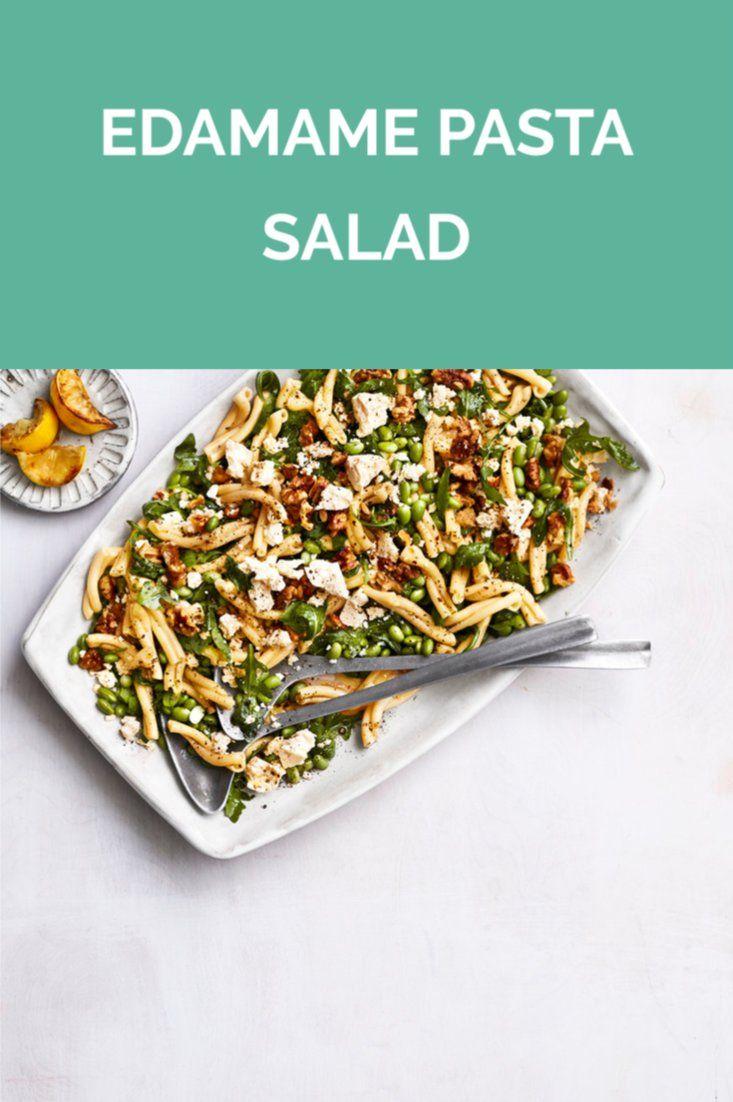 Edamame Pasta Salad Recipe Edamame Pasta Entree Recipes