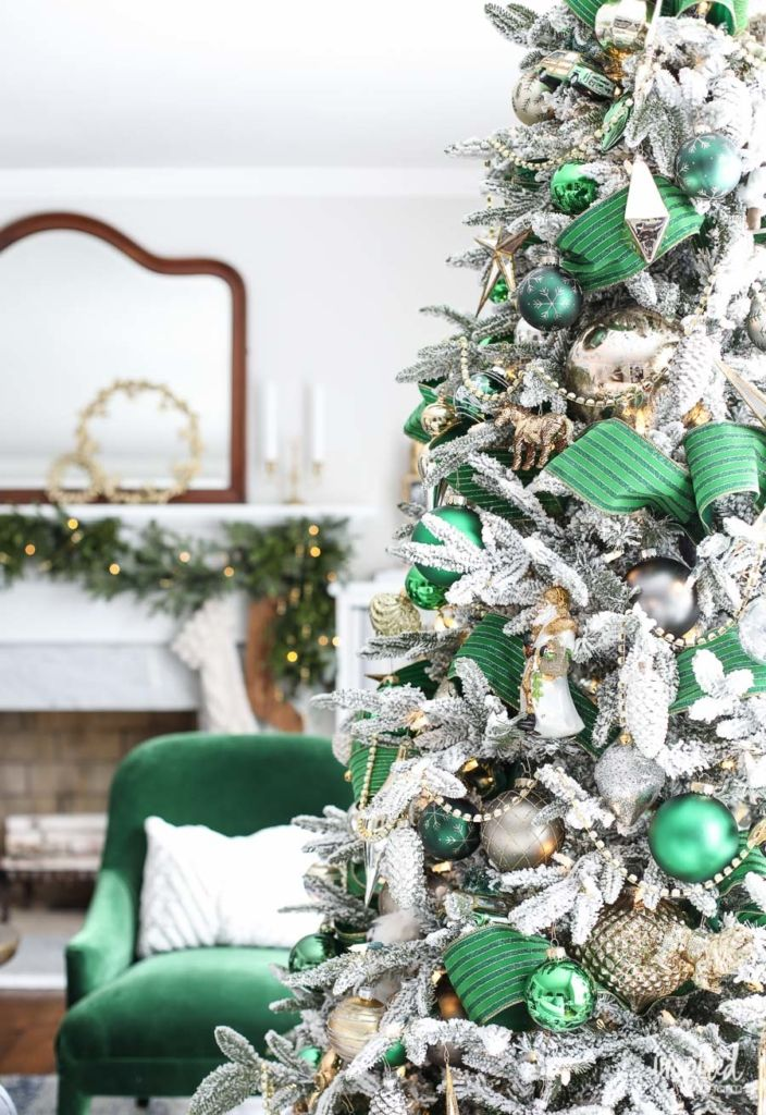 Christmas at Bayberry House - Holiday Home Tour with color Christmas