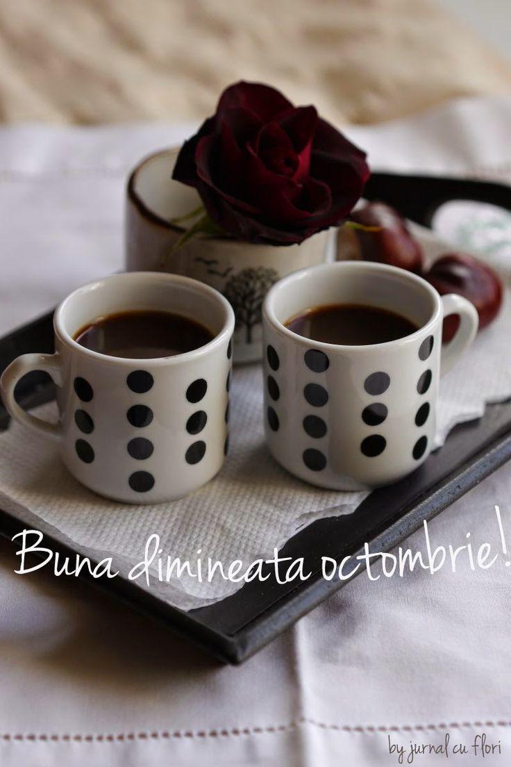 #octombrie #cafea #trandafir #bunadimineata #toamna