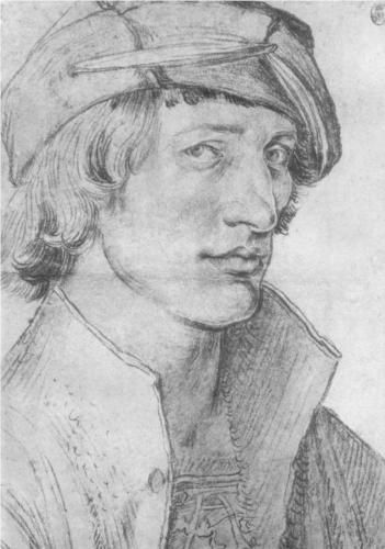 Portrait of a Young Man  - Albrecht Durer - Finally one who will look at me- but is that derision?