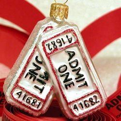 movie stub ornament | Ornaments, Christmas ornaments ...