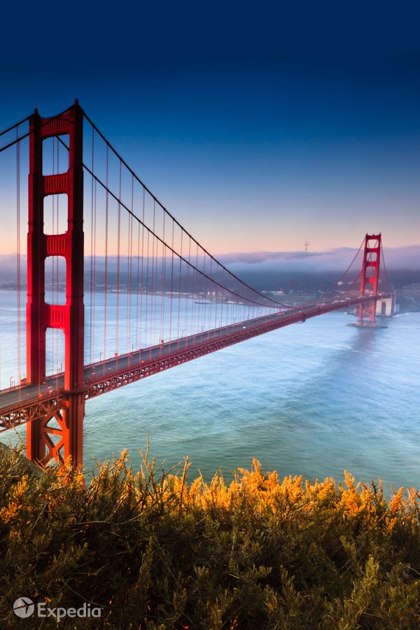 The Golden Gate Bridge awaits. San Francisco - a favorite summer escape!