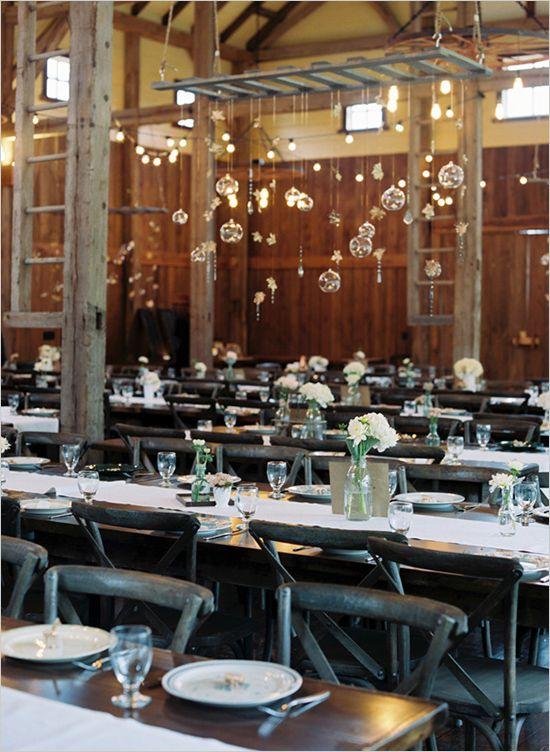 Simple And Elegant Rustic Wedding Reception Weddingchicks