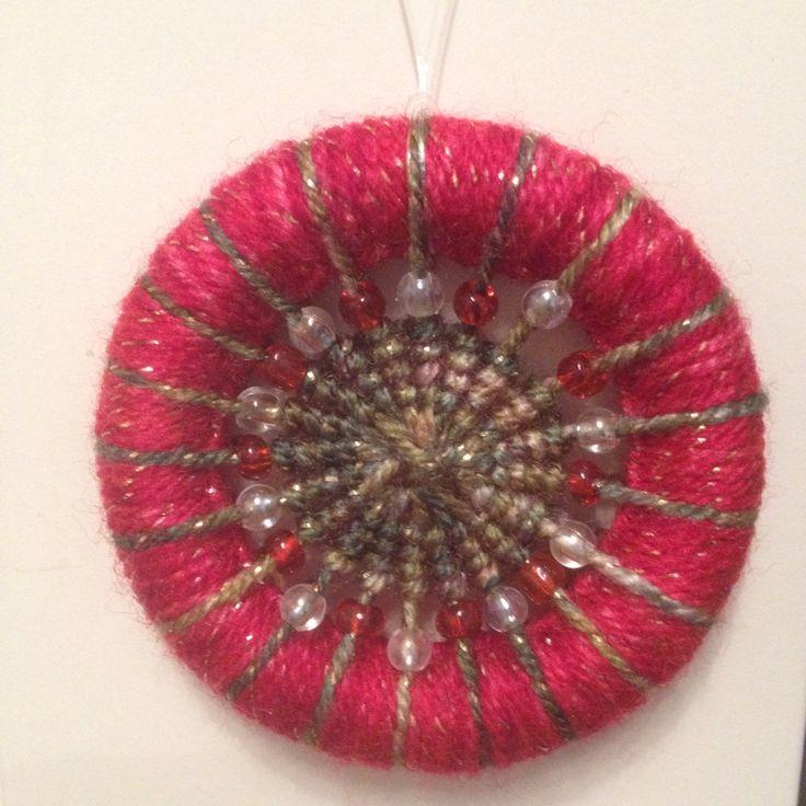 Dorset Button Christmas decoration