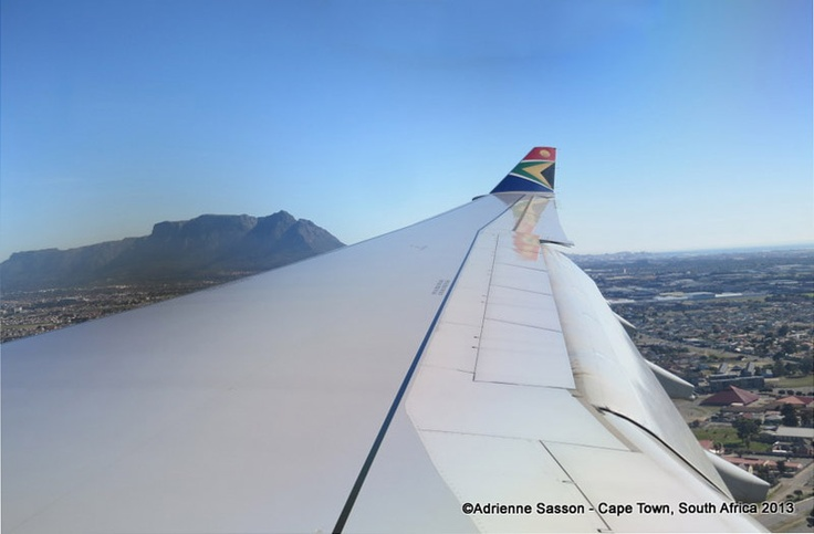 Over Cape Town, South Africa #Visitsouthafrica #CapeTown #my5big @flySAA_US  @GotoSouthAfrica