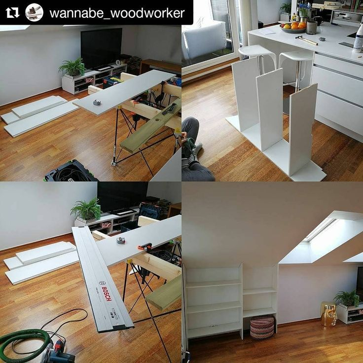 """@wannabe_woodworker using his #portable #CentipedeSupport to provide some #woodshop #workspace on the #jobsite in this repost:    2 down 5 sections to go. Including a 60"""" TV cabinet. #woodworking #wood #centipedetool #cabinets #biscuitjoiner #boschtools #festool #carpenter #carpentry #glueup #joinery ・・・  (@get_repost)  #workshop #workbench #worktable #stand #sawhorse #builtins #interiordesign #cabinetry #remodel #renovation #construction #contractor #toolsofthetrade #tools"""