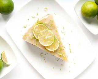 Low Carb Key Lime Pie (cream cheese, sugar-free lime gelatin, lime juice, lime zest, splenda/sweetener)