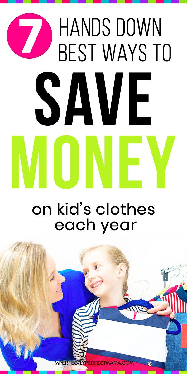 Want to save money on clothes shopping? Save money on your kid's clothes by doing these simple, yet effective 7 things. You can save thousands of dollars on kid clothes. Simple steps to save money on clothes shopping for your kids! via @imperfectmama