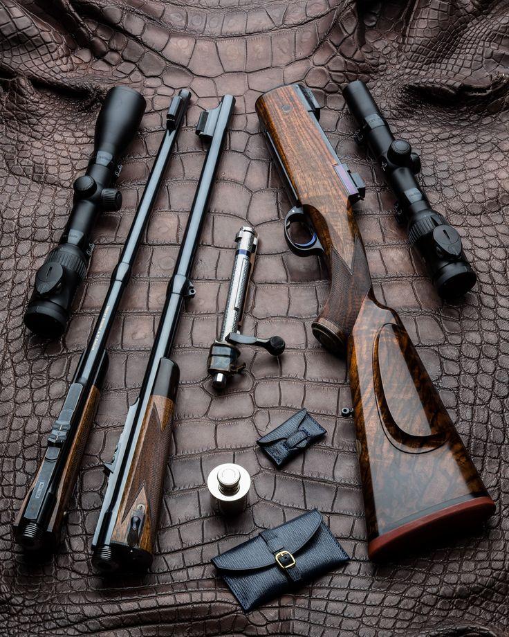 Westley Richards Take Down Rifles