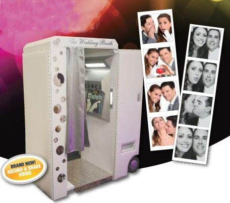 Why Rental Customers will love the Wedding Booth:    No Setup, Plug & Play  Built-In Dolly System  Includes Nine Popular Software Packages  Black & White Photo Strips  Color Photo Strips  4 x 6 Photos  Face Replacements  Passport Style Photos  Hair Styles  Fun Backgrounds  Holiday Borders  Postcards