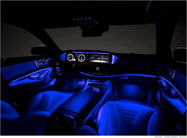 Cars With Best Ambient Lighting