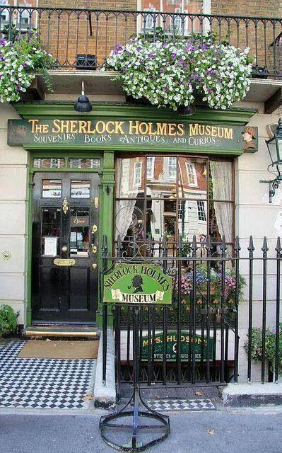 Sherlock Holmes Museum. 221B Baker Street London