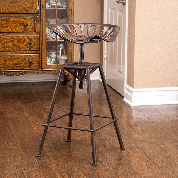 Noble House Chapman Saddle Barstool Bar stools, Bar